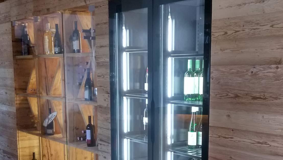 Sondermaße und Weinkühlschränke, geht das? Aber freilich ...